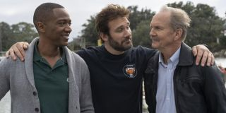 J. August Richards as Oliver Post, Clive Standen as Anthony Lavelle, and Michael O'Neill as Larry Mi
