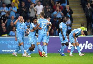 Coventry City v Cardiff City – Sky Bet Championship – Coventry Building Society Arena