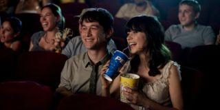Movie theater scene in 500 days of summer