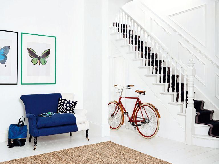 Dulux white hallway