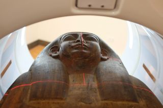 Mummy CT scan