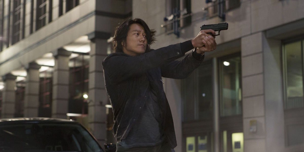 Sung Kang as Han Lue in Fast and Furious movie