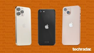A selection of the best iPhones including iPhone 13, iPhone 13 Pro Max and iPhone SE