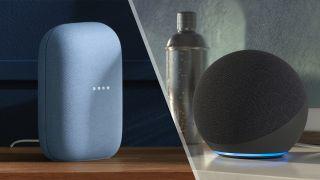 Google Nest Audio vs. Amazon Echo