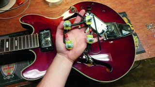 How to rewire a hollowbody guitar | MusicRadar | Hollow Body Bass Guitar Wiring Diagram |  | MusicRadar