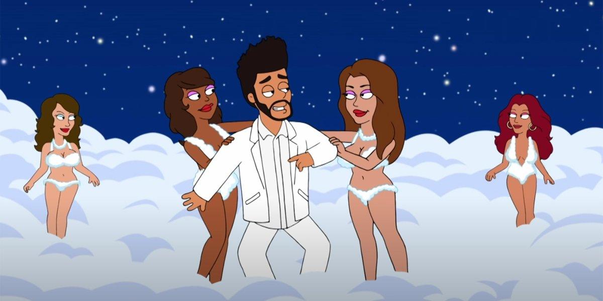 The Weeknd a virgin on American Dad!