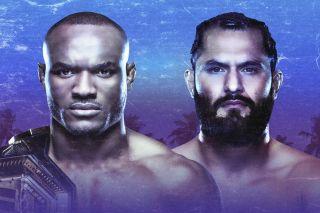UFC 251 Usman Masvidal ESPN Plus PPV Hero