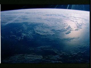 Earth's Clouds from Space