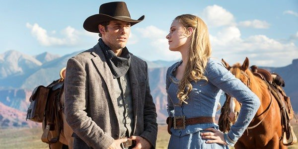 Teddy Dolores James Marsden Evan Rachel Wood Westworld HBO