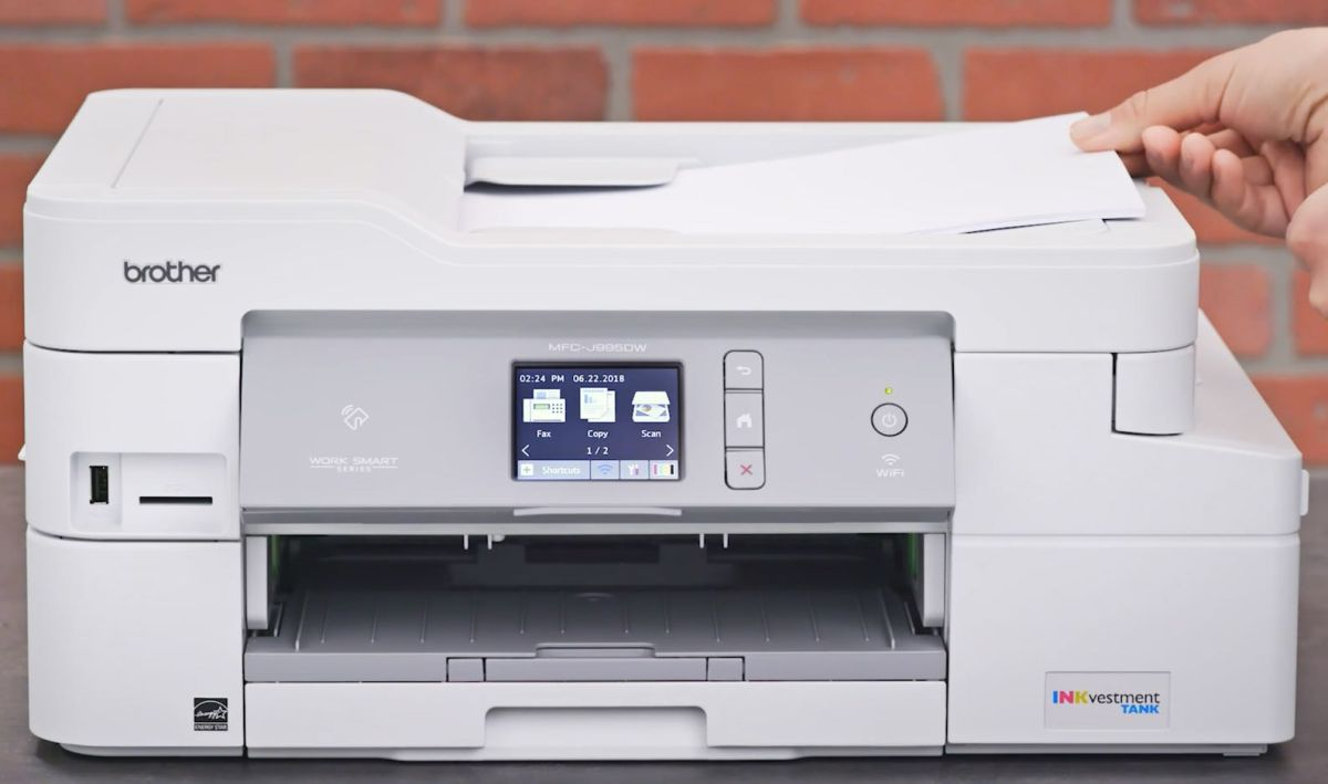 Brother INKvestment MFC-J995DW All-in-One Printer – Full