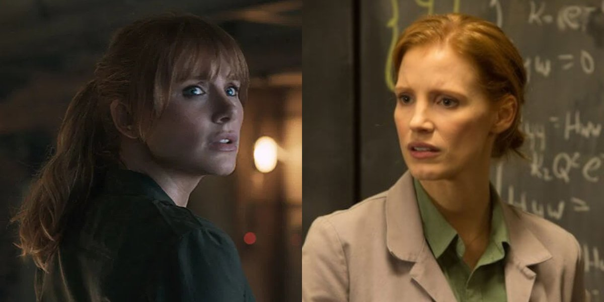 Bryce Dallas Howard and celebrity doppelganger Jessica Chastain
