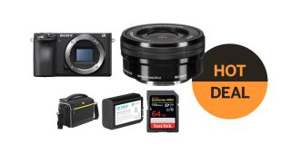 Save $600 on the Sony A6500 + 16-50mm lens bundle