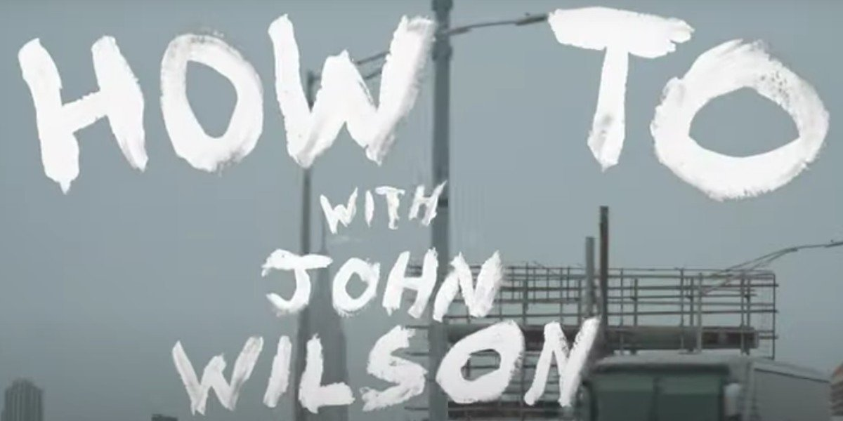 How to with John Wilson Title Card from trailer (HBO)