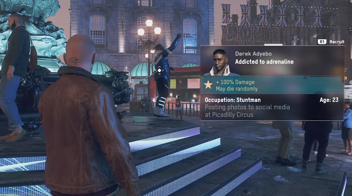 I am already hopelessly obsessed with Watch Dogs Legion's NPCs   PC Gamer