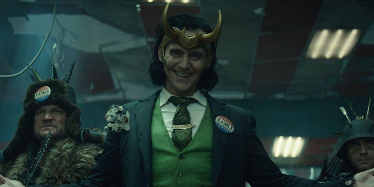Tom Hiddleston as Loki in the series