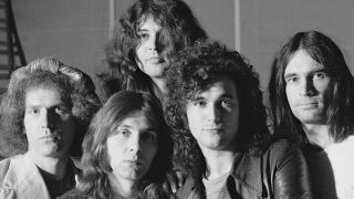 The Ian Gillan Band in 1977