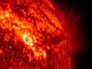 SDO Solar Storm