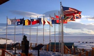 Antarctic Treaty Flags 111213 02