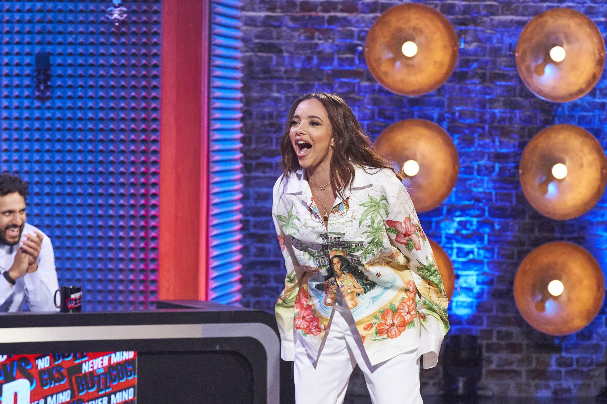 Jade Thirwell de Little Mix es la estrella invitada en el episodio uno de Never Mind The Buzzcocks.
