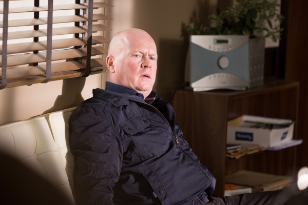 Phil Mitchell has problems in EastEnders