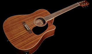 Harley Benton's new CLD-60SMCE NT acoustic guitar