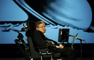 Stephen Hawking Talks at NASA