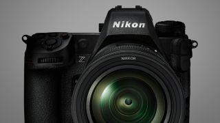 Le Nikon Z9 vu de face