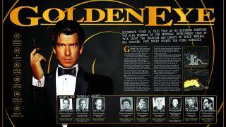 Goldeneye magazine spread from Retro Gamer magazine