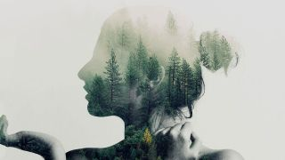 Free Photoshop actions: Double exposure