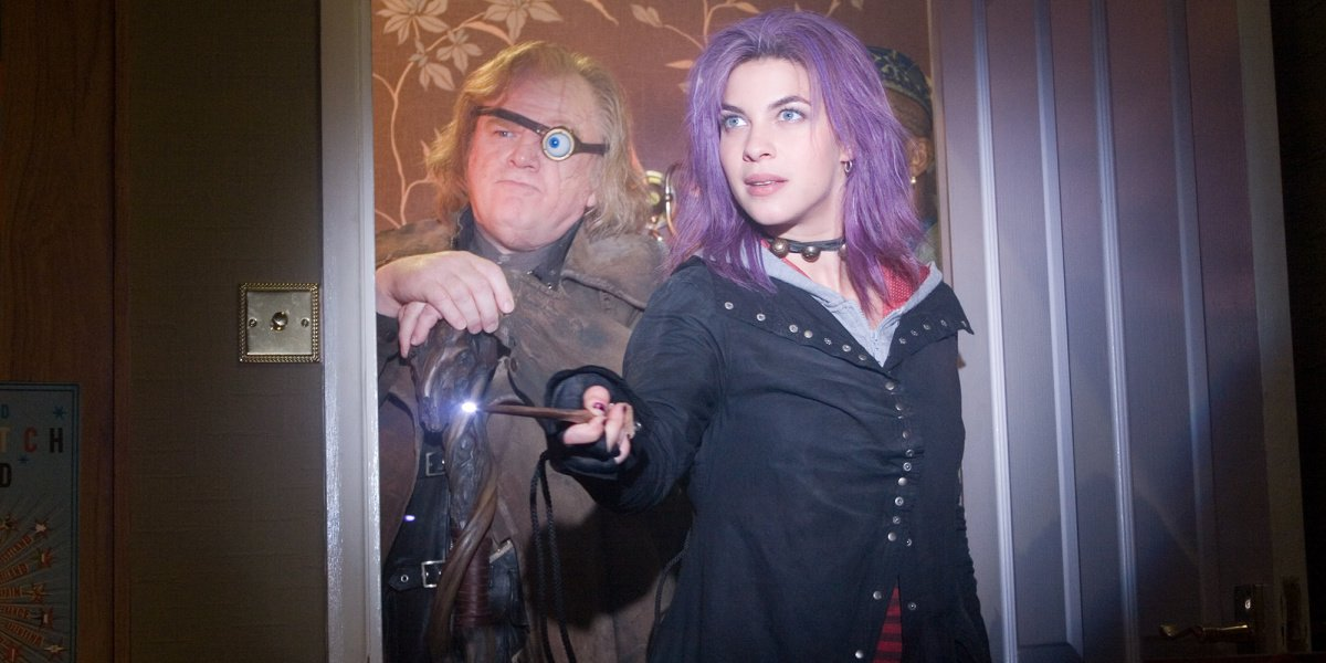 Tonks in Harry Potter and the Order of the Phoenix.