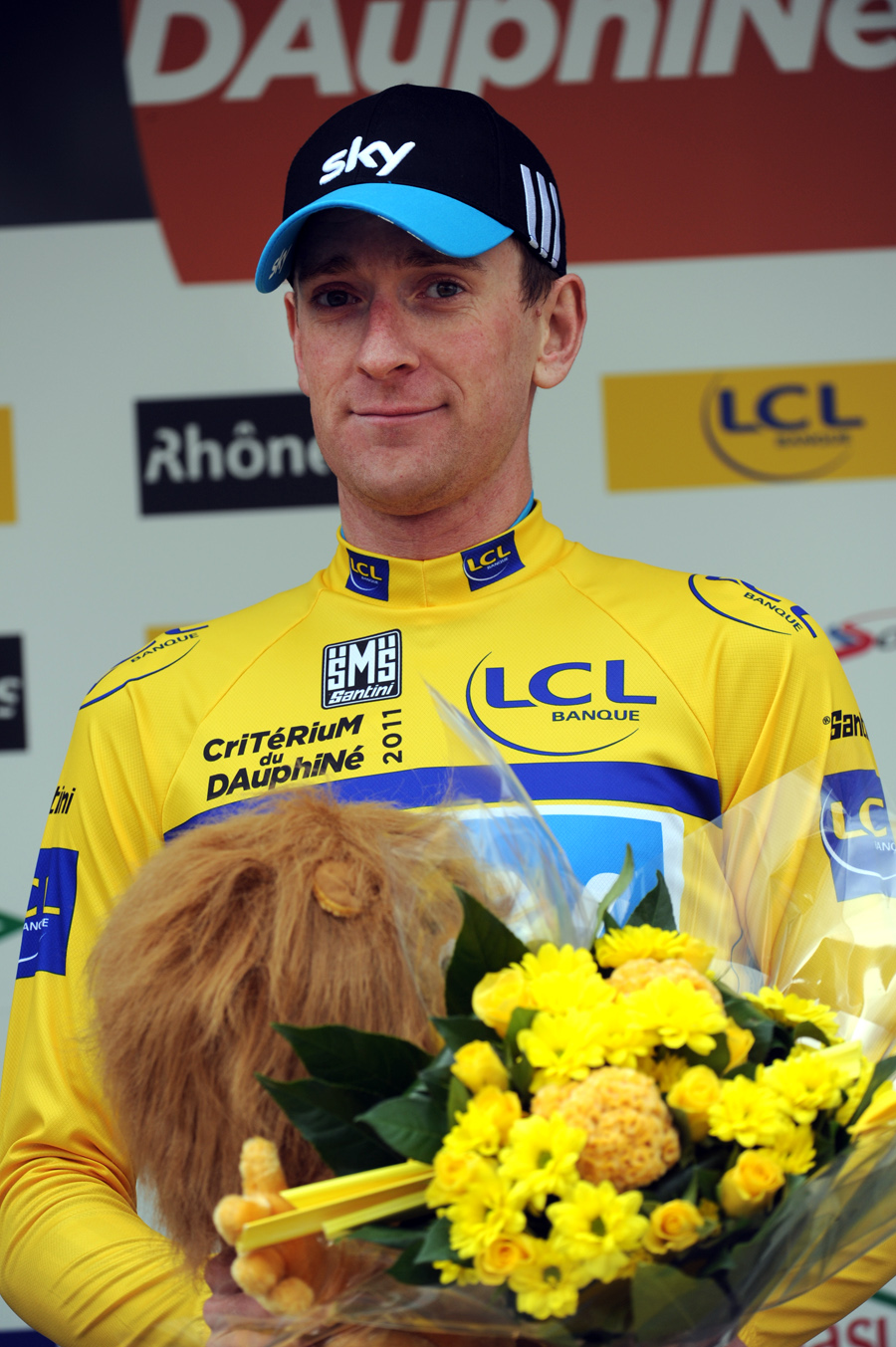 Bradley Wiggins moves into overall lead, Criterium du Dauphine 2011, stage three ITT