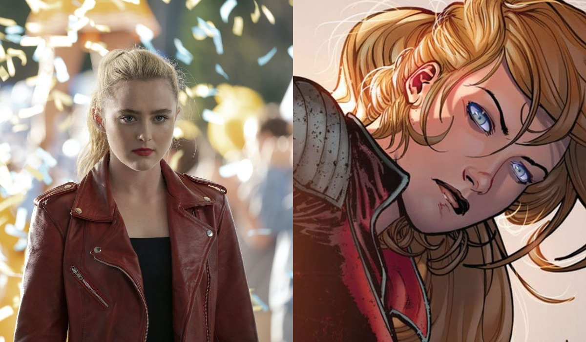 Kathryn Newton in Freaky and Cassie Lang in Marvel Comics
