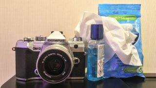 How to disinfect your Olympus camera