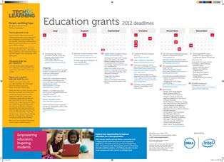 Grants Calendar and Directory, 2012-2013