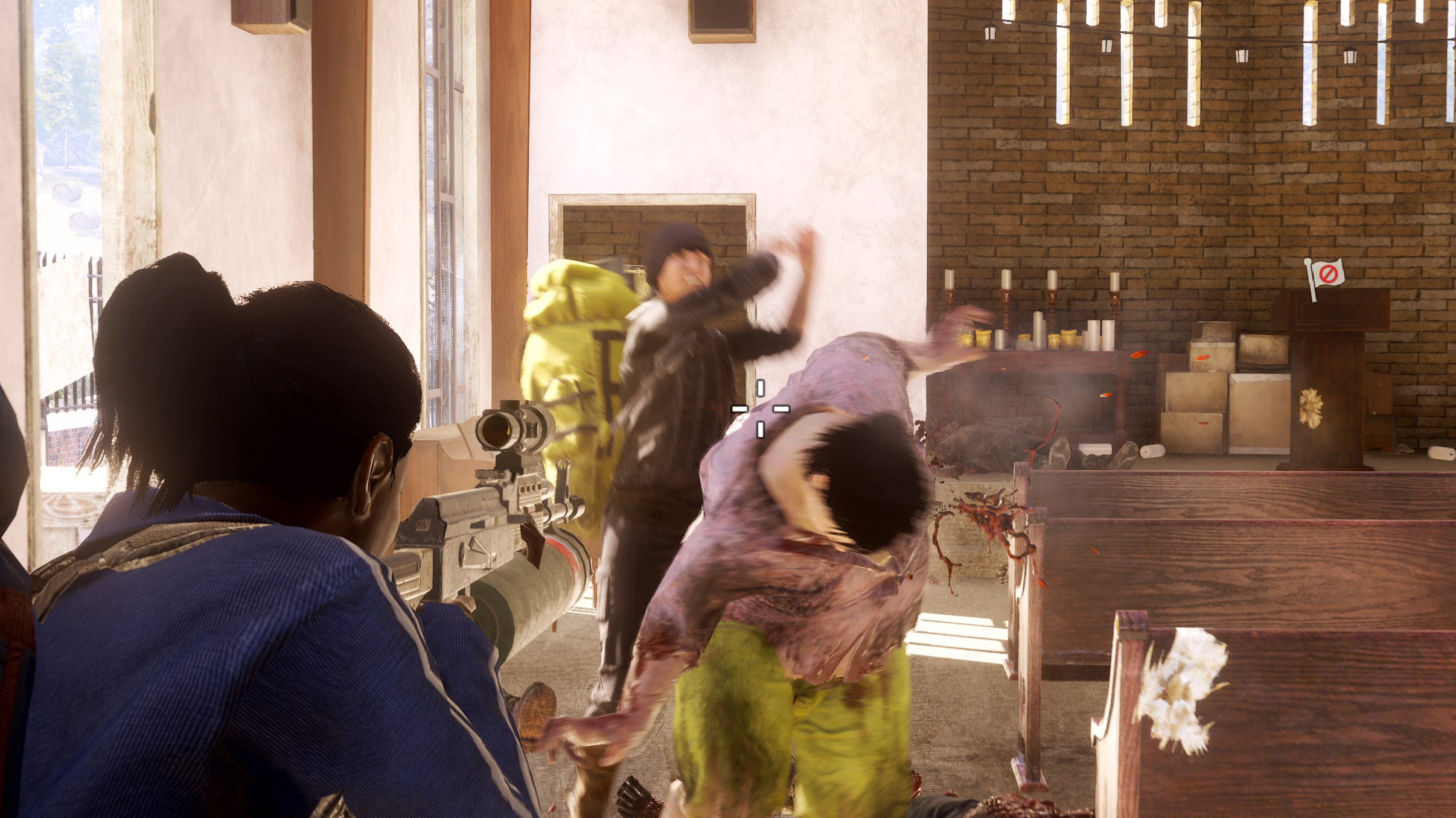 Like any great zombie movie, State of Decay 2 finds complexity in