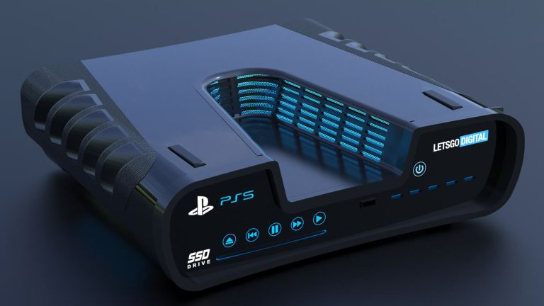 PS5 render based off a patent