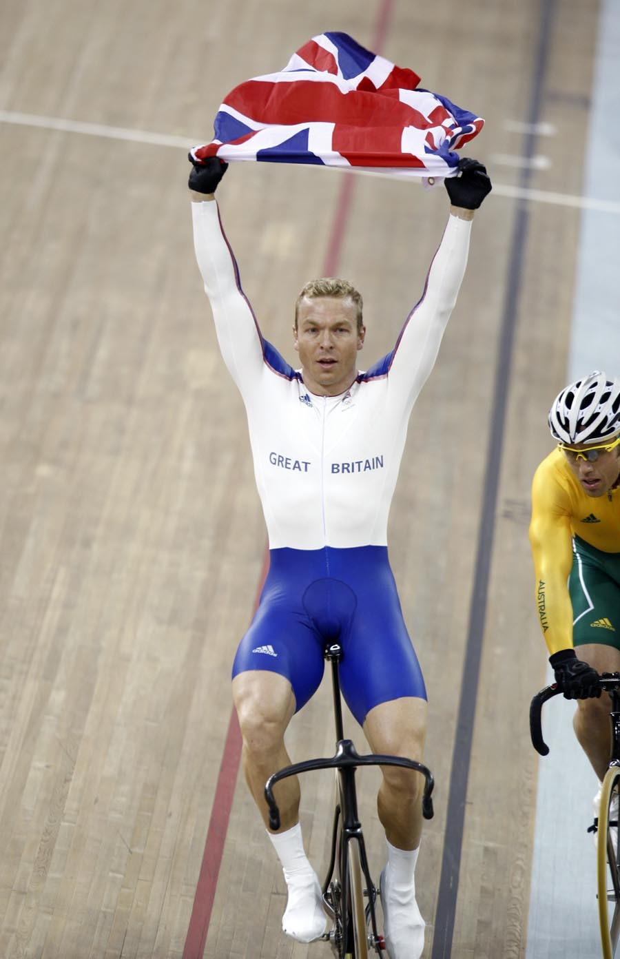 Chris Hoy Olympic Keirin gold medalist