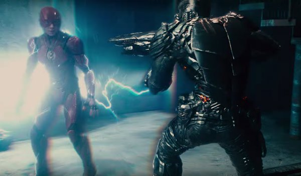 The Flash Parademon Justice League