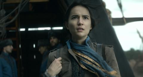 Jessie Mei Li as Alina Starkov in 'Shadow and Bone'