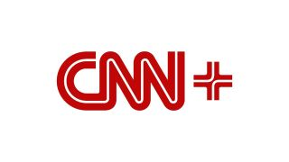 CNN Plus logo red with white background