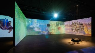 """The exhibition """"Imprint of Time: Immersive Works of Master Painters"""""""