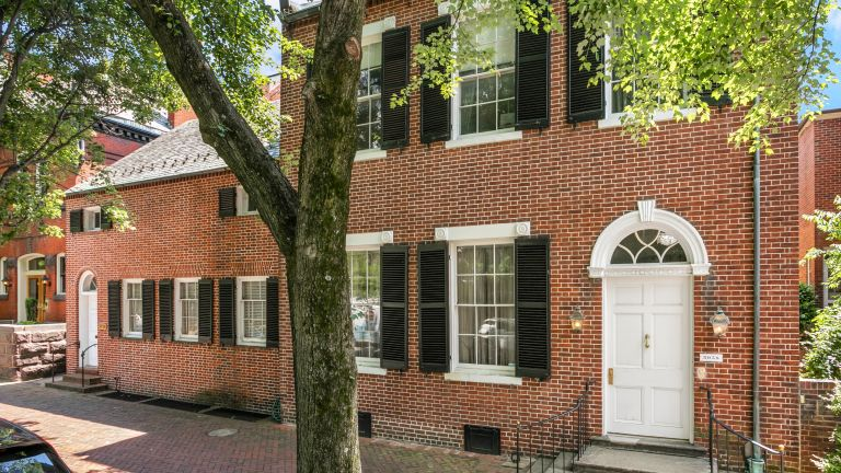 Jackie Kennedy Georgetown house