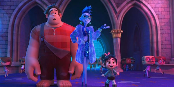 Wreck It Ralph 2 Ralph and Vanellope in the internet