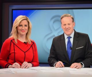 Lyndsay Keith and Sean Spicer on 'Spicer & Co.'