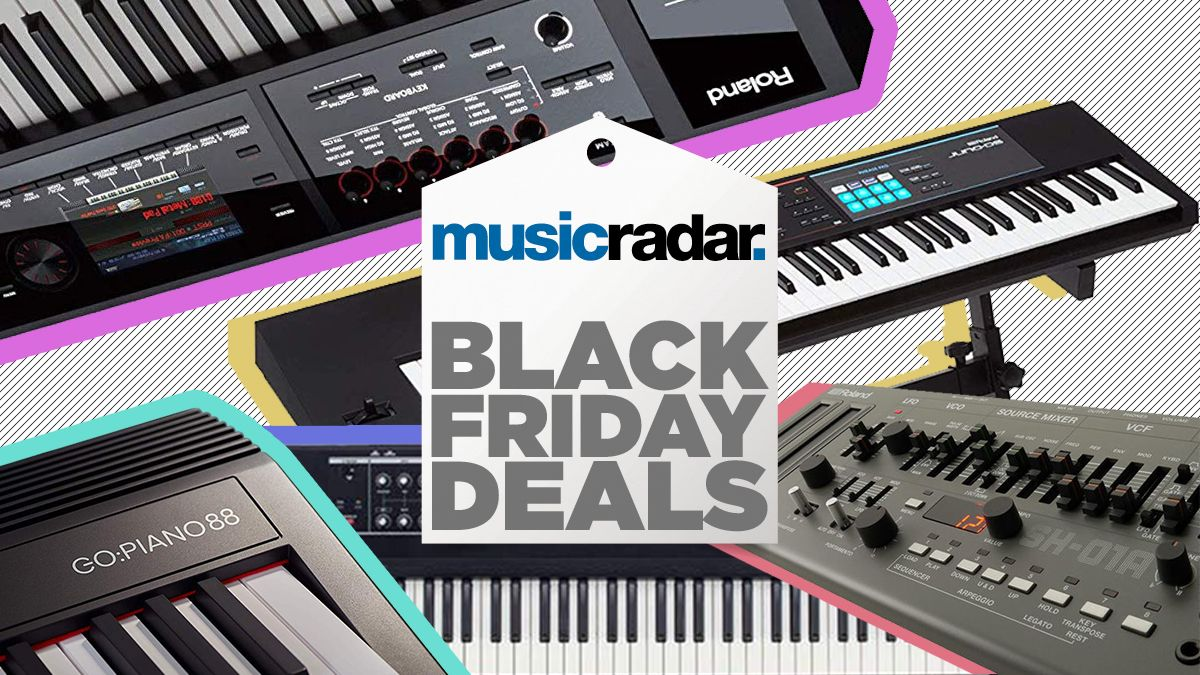 Black Friday Amazon Deals Save Up To 500 On Roland Synthesizers Keyboards Pianos And Workstations Musicradar