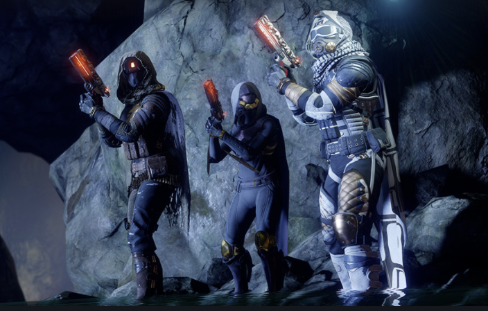 Watch three of Destiny 2's revamped Exotic weapons in action