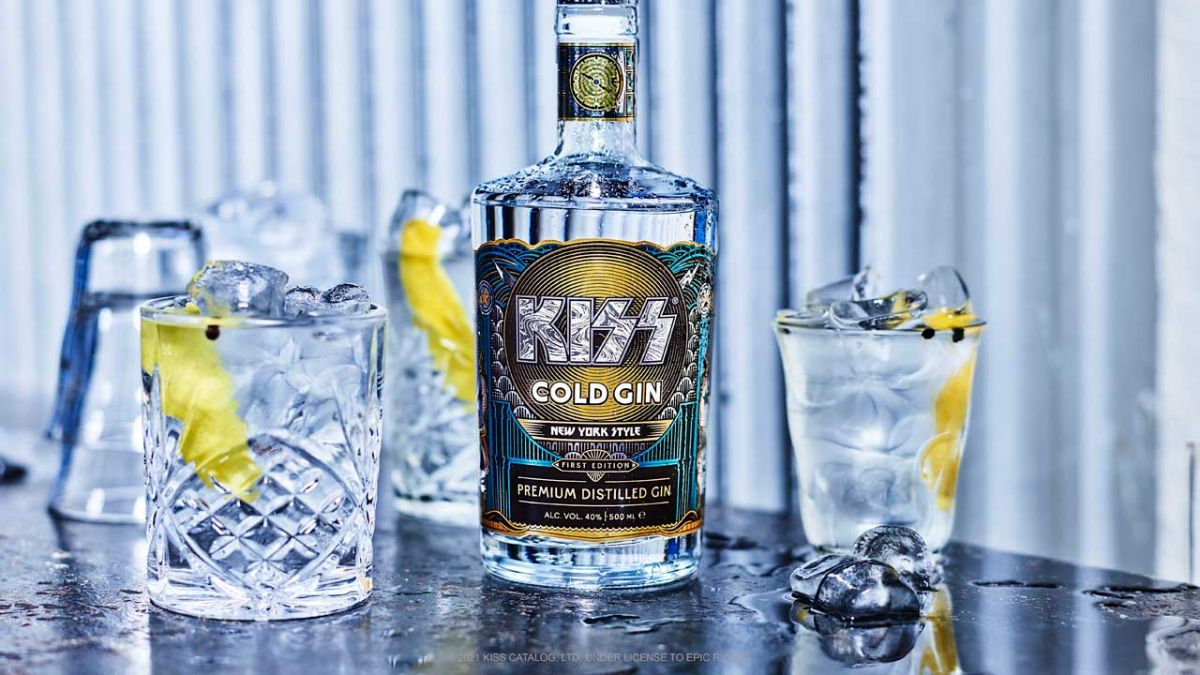 Kiss have launched an official gin and you'll never guess what it's called