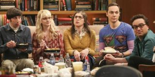 The partial cast of The Big Bang Theory