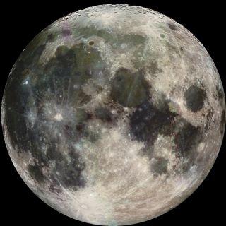 Moon Full Disk Image