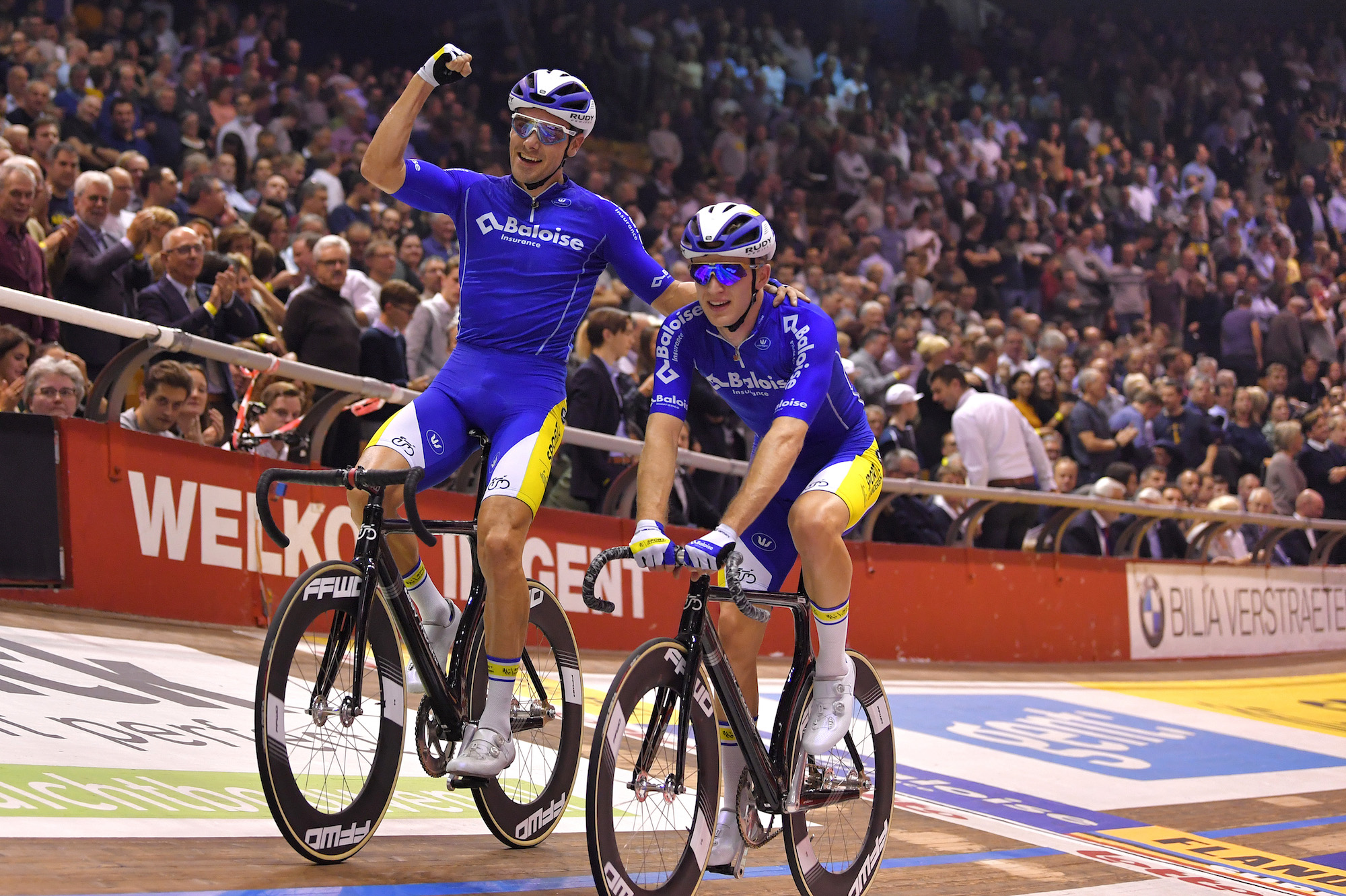 Kenny De Ketele and Robbe Ghys take overall victory at thrilling Ghent Six Day 2019